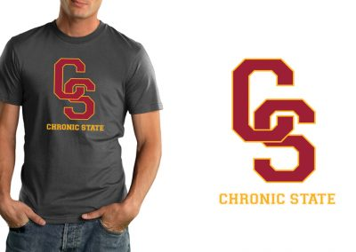 Chronic State T-Shirt – Fight On!