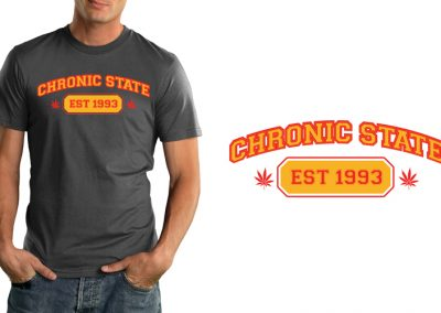 Chronic State T-Shirt – All American