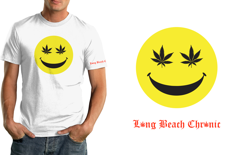Long Beach Chronic T-Shirt – Smile