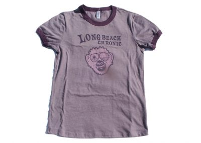 Long Beach Chronic Ladies T-Shirt – Monkey Biznass